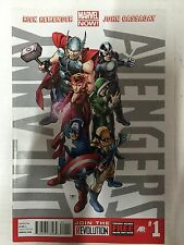 UNCANNY AVENGERS # 1 FIRST PRINT MARVEL NOW (2012)THOR CAPTAIN AMERICA WOLVERINE