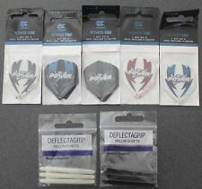 5 Packets of Target - Phil Taylor - Dart Flights & 2 sets shafts Free Postage