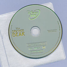 Walt Disney Brother Bear 2003 G animated family comedy movie DVD disc and sleeve