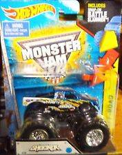 2015 Hot Wheels Monster Jam Truck Shocker With Battle Slammer NEW LOOK