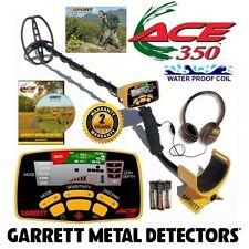 Garrett Ace 350 Metal Detector with Free Headphones, DVD and Waterproof Coil