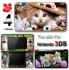 Cat Cute Pet SKIN VINYL STICKER DECAL COVER #2 for Nintendo 3DS