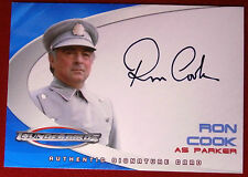 Thunderbirds The Movie: AC4, RON COOK (Parker) - Auto / Autograph