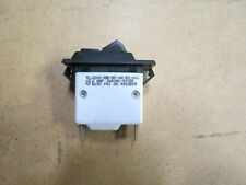 Snap-in Panel Mount 6A Harsh Condition Rocker Switch With Circuit Breaker On Off