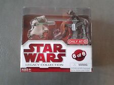 Star Wars Legacy Collection Geonosis Arena Showdown Yoda vs Droideka NEW