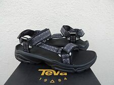 TEVA TERRA FI 4 CROSS BLACK STRAPPY SPORT/ HIKING SANDALS,US 11.5/ EUR 45 ~NEW