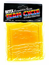 Team Cycles BMX Competition Series Stem gooseneck pad cover old school skool rad