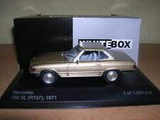 Whitebox Mercedes 350 SL R107 Baujahr 1971 Beige Metallic, 1:43 Lim 1000 Stück