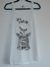 Gentleman Bird Gacha Machine Nest Vest Top / Dress - Size 10-12 T- Shirt Kitsch
