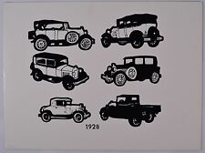 Awesome Vintage Limited Edition Antique Car Lithograph, Screen Printed, NICE!!