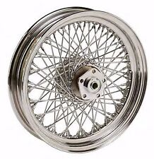 "Chrome 16 X 3"" 80 Spoke Rear Wheel Rim 1984-99 Harley Softail Dyna Sportster FXR"