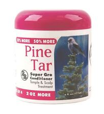 Bronner Brothers Pine Tar Super Gro Conditioner, 6 oz (Pack of 3)