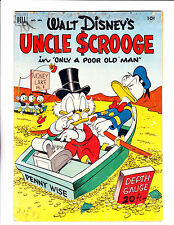 Four Color  No.386   : 1952 :   : 1st Issue Uncle Scrooge Barks Art! :