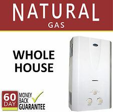 Tankless Hot Water Heater Natural Gas 3.1 GPM Marey On-Demand Whole House New