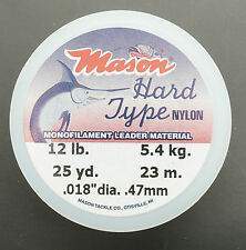 MASON Hard - Mono 12 lb 5,4 KG 0,47 mm Superspule 23 Meter