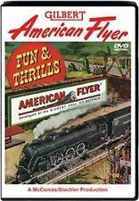 Fun & Thrills Gilbert American Flyer S Gauge DVD 2 Hrs