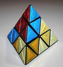 Soviet Russian USSR puzzle brain teaser for blind Rubik pyramid rare vintage toy