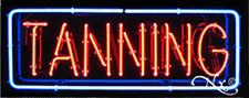 "BRAND NEW ""TANNING"" 32x13 BORDER REAL NEON SIGN w/CUSTOM OPTIONS 10135"