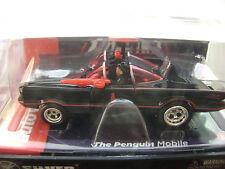 Rare Autoworld R8 XTRACTION Batman Penguin Mobile 4 Gear HO SLOT CAR Run on Tomy