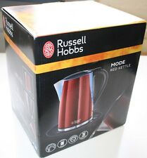 Russell Hobbs Mode Red Kettle - 21401 1.7L 3000W electric jug uk NEW
