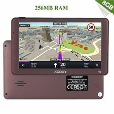 XGODY 7-Zoll-Satellitennavigationssystem 256 MB RAM-LKW-GPS-Navigation de