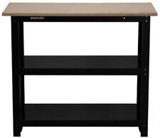 """Stack-On 42"""" DIY Workbench w/Full Length Steel Shelves SO-382B STORAGE DEVICES"""
