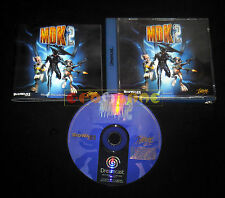MDK 2 Dreamcast Dc Versione Europea PAL ••••• COMPLETO
