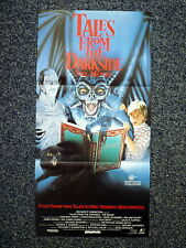 TALES FROM THE DARK SIDE Original 1990s DB Movie Poster Christian Slater