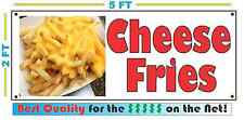 Full Color CHEESE FRIES BANNER Sign NEW XL Larger Size Best Quality for the $$$$