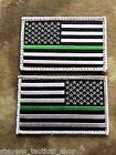 Thin GREEN Line American Flag Patch, Federal Agents, Game Wardens, Border Patrol