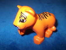LEGO DUPLO VILLE TIGER 1 X TIGER BABY KIND NEUES MODELL ORANGE SCHWARZ GESTREIFT