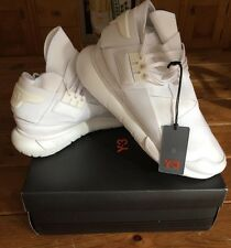 Men's New Adidas Y3 Qasa High - Triple White - UK 10 - BNIB - 100% Authentic