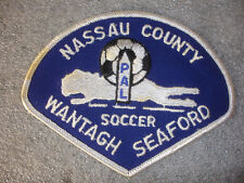 Nassau County Wantagh Seaford  Police Athletic League  Soccer Sewing Patch
