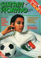 GUERIN SPORTIVO=N.22 1977 anno LXV=finale di coppa dei campioni =Trasferibili