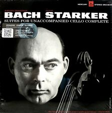 * MERCURY - SR3-9016 - 3 LP BOX - BACH - THE CELLO SUITES - JANOS STARKER *