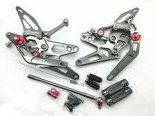 CNC GP Shift Racing Rear set Rearsets Foot peg For GSXR GIXXER 600 750 2006-2013