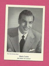 Mario Lanza Vintage Movie Film Star German Card