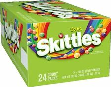 Skittles Sours, 1.8-Ounce Boxes (Pack of 24)