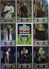STAR WARS Force Attax POWER UP / STAR CARD SET 2013    MOVIES 2   complete (32)