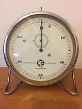 Vintage Pye Cambridge Wind-up Bakelite Stop Clock Timer on Adjustable Stand #3