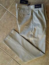 Polo Ralph Lauren Pleat Front Chino Pants Men's 32 x 32 Khaki Classic Fit NWT