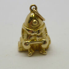 Vintage 18ct Yellow Gold Humpty Dumpty Children's Nursery Rhyme Charm / Pendant