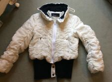 Marc Cain Quilted Jacket Size 2. 2waycropped Or Longer