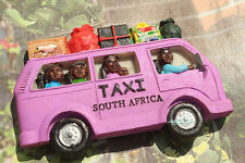 Taxi in South Africa Tourist Travel Souvenir Funny 3D Resin Fridge Magnet Craft