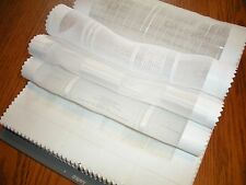 Michaels Textiles Swatch Sample Fabric Book Cascades Sheers 137 Panels Drapes