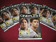 CINEPLEX MAGAZINE ''THE HUNGER GAMES:CATCHING FIRE''  MOVIE! THOR:THE DARK WORLD