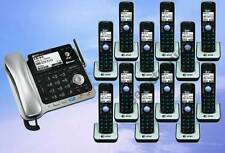 AT&T TL86109 2-LINE DECT 6.0 PHONE SYSTEM - BLUETOOTH - 12 CORDLESS - BRAND NEW