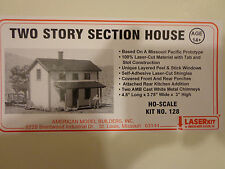 American Model Builders HO #128 Two Story Section House