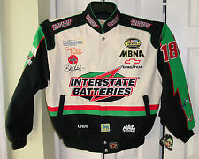 NASCAR Men's Jacket BOBBY LABONTE #18 (Joe Gibbs Racing) Size Large - NEW W/ TAG
