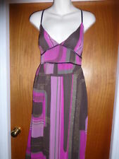 BNWOT Principle by Ben de Lisi long maxi dress size 10 lined with purple pink pa